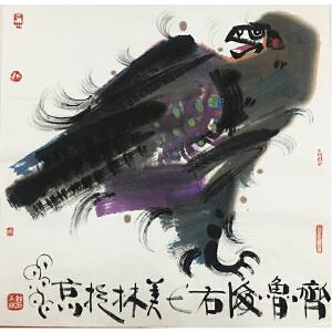 韩美林《鹰》著名画家