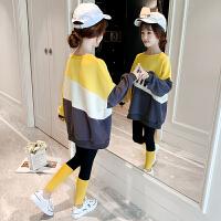 女童秋装套装洋气儿童中大童女孩秋季两件套