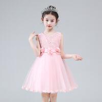 公主裙女童夏装蓬蓬纱童装礼服小女孩裙子儿童洋气连衣裙