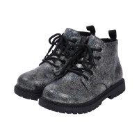 【限时抢 券后预估价:71】笛莎女童加绒马丁靴冬款儿童洋气保暖鞋女孩亮面短靴