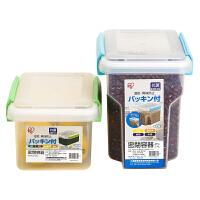 冰箱内密闭食品水果保鲜盒冷藏收纳盒 长方形有盖