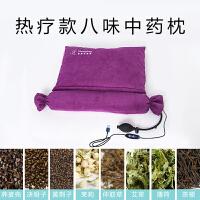 充气颈椎枕头修复颈椎专用护颈枕加热中糖果枕圆柱枕芯 热疗款 USB接口款