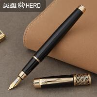 英雄1311纯黑丽雅钢笔铱金笔练字笔商务礼品笔