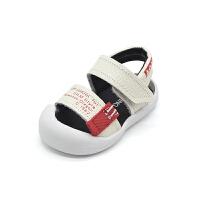 婴儿沙滩鞋男童透气凉鞋1-3岁宝宝鞋子春夏季软底学步鞋
