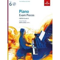 预订Piano Exam Pieces 2021 & 2022, ABRSM Grade 6, with CD:Sele