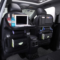 汽车收纳袋车载多功能置物袋椅背储物盒车内粘贴式悬挂式座椅挂袋