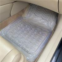 路虎脚垫 环保无味加厚透明橡胶塑料地垫PVC乳胶硅胶防水防滑塑胶汽车脚垫