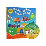 手舞足蹈英语童谣图画书 英文原版 The Journey Home from Grandpa's 从爷爷家里往回返 廖