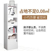 书架简易落地书柜置物架简约客厅收纳柜子经济型家用学生储物书架