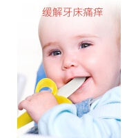 婴儿全硅胶香蕉牙胶宝宝出牙期软磨牙棒咬咬乐牙胶可水煮 Banana Plus(1支)