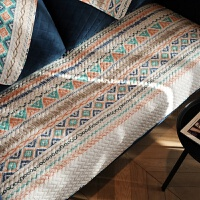 雅馨 美式全棉布艺沙发垫防滑沙发盖巾套罩坐垫四季通用可定做 雅馨H