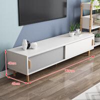 【品牌特惠】北欧电视柜茶几简约现代小户型日式实木家具套装组合客厅电视机柜 组装