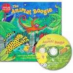 手舞足蹈英语童谣图画书 英文原版 The Animal Boogie 动物摇摆舞 Barefoot singalong
