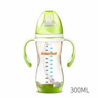 宽口径PPSU感温变色婴儿奶瓶 300ML耐摔防胀气