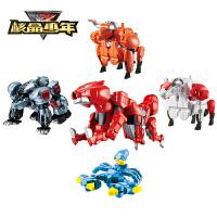 核晶少年变形玩具男孩子合金刚机器人力奥亚瑟变身战兽合体套装