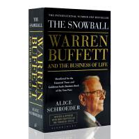 英文原版The Snowball 滚雪球 巴菲特和他的财富人生 Warren Buffett 沃伦巴菲特 财经类人物传