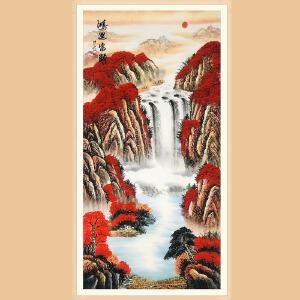 中国美协会员、国家一级美术师 赵洪霞(鸿运当头) ZH353