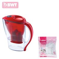 倍世(BWT)家用厨房直饮净水器过滤水壶净水壶2.5升阻垢款 一壶一芯至十二芯