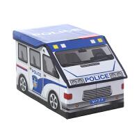 美达斯 牛津布收纳箱 创意卡通汽车造型收储物盒 玩具整理箱12582