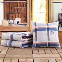 抱枕被子两用靠垫被枕头被沙发空调被汽车腰枕床头靠背午休靠枕被