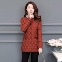 棉衣女士短款2018秋冬季新款韩版时尚立领保暖外套修身小棉袄