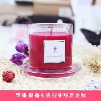家用持久卧室香薰蜡烛精油无烟安神室内生日礼盒浪漫香氛蜡烛杯 其它