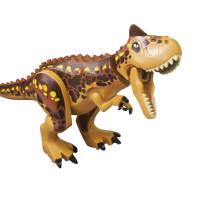 兼容乐高积木侏罗纪世界2恐龙男孩积木暴虐龙大号霸王龙冥河龙迅猛龙