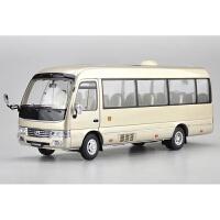 新款原厂 1:42 宇通客车 双源无轨电车 双风档双层客车巴士BTR公交车合金模型