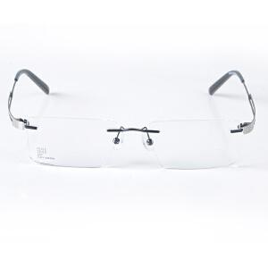 Vegoos/威古氏 超轻无框眼镜 不锈钢近视眼镜架 商务近视眼镜架 5030