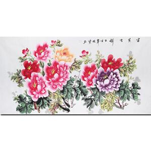 中国著名花鸟画家余传宝先生作品 ―― 富贵吉祥