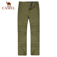 camel骆驼户外冲锋裤 男款 防风保暖休闲冲锋裤