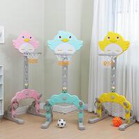 儿童篮球架可升降足球门室内外家用宝宝篮球投篮框小男孩球类玩具