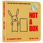 英文原版绘本 Not a Box 不止是个盒子 箱子 启蒙经典想象力绘本 吴敏兰绘本123 第36本 英文儿童读物