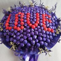 永生花礼品花束香皂花99颗礼盒创意节日糖果花束送女友生日礼物