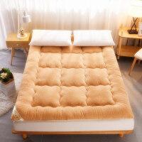 羊羔绒软床垫加厚冬季床褥子2米双人学生宿舍家用保暖定制