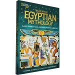 世界经典神话传说系列 Treasury of Egyptian Mythology 埃及神话 英文原版 Nationa