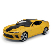 1 18原厂雪佛兰科迈罗ss大黄蜂合金汽车模型变形金刚5模型