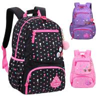 1-3-4-6年级小学生书包可爱女孩公主儿童书包女童双肩包轻便书包