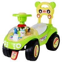 A+B儿童玩具车宝宝学步车带音乐助步车自行车小熊滑行车车溜溜车