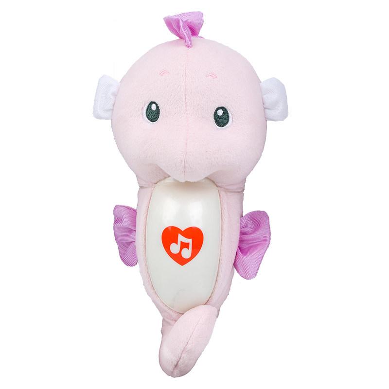 费雪(Fisher Price) 智能安抚海马FHC95 婴儿音乐声光睡眠安抚床铃 1-3月宝宝玩具