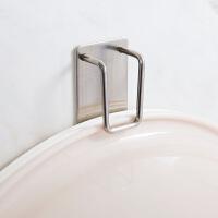 不锈钢脸盆挂钩浴室墙壁无痕挂架创意卫生间强力壁挂脸盆架挂盆架