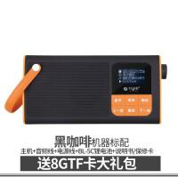蓝牙收音机音响便携式插卡小音箱老人播放器随身听 官方标配