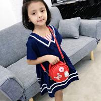 2019新款韩版儿童包包小女孩可爱公主时尚女童斜挎包宝宝手提包