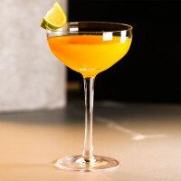 玻璃鸡尾酒杯 复古碟形杯古典高脚杯 婚庆香槟杯调酒杯派对红酒杯