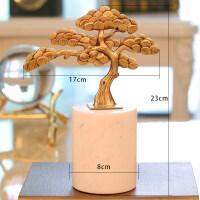 【新品】纯铜树摆件工艺家居客厅办公桌北欧式酒柜装饰品乔迁新居礼品 树
