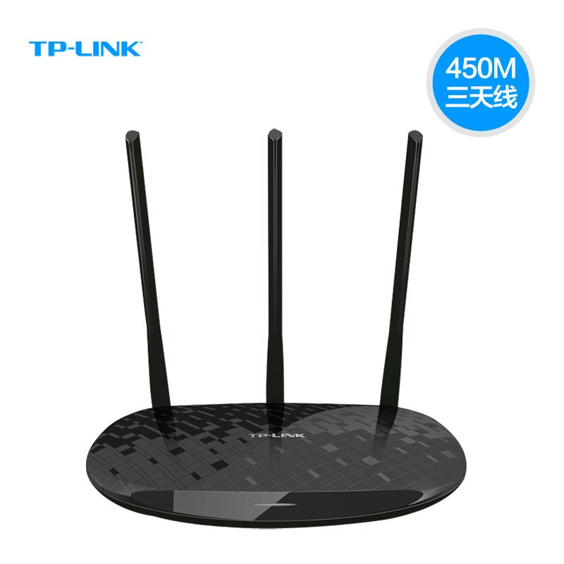 TP-link TL-WR880N无线路由器(450M无线路由器),家庭超强信号3天线无线路由器,新款上市 2.4G频段TP大功率无线路由器