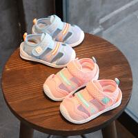 1-3岁小童凉鞋中小童婴儿凉鞋婴幼儿机能学步鞋夏季宝宝凉鞋包头鞋