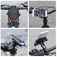 自行车手机支架山地车铝合金导航架单车骑行防震防公路车