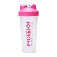 【优选】奶昔杯摇摇杯健身运动水杯蛋白粉摇杯自动电动搅拌杯带刻度 粉 (经典款)