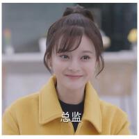 毛呢外套女短款2018新款韩版宝妮同款时尚显瘦黄色夹克呢大衣 图片色